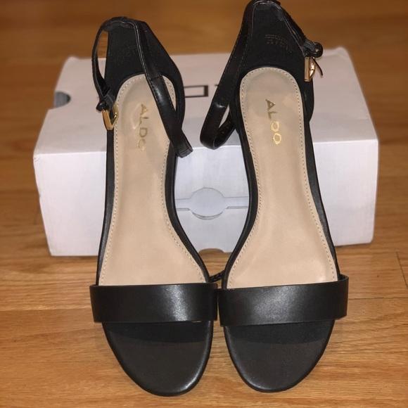 db8dbddf7b57 •BRAND NEW IN BOX• ALDO  KERINA  Black Sandals